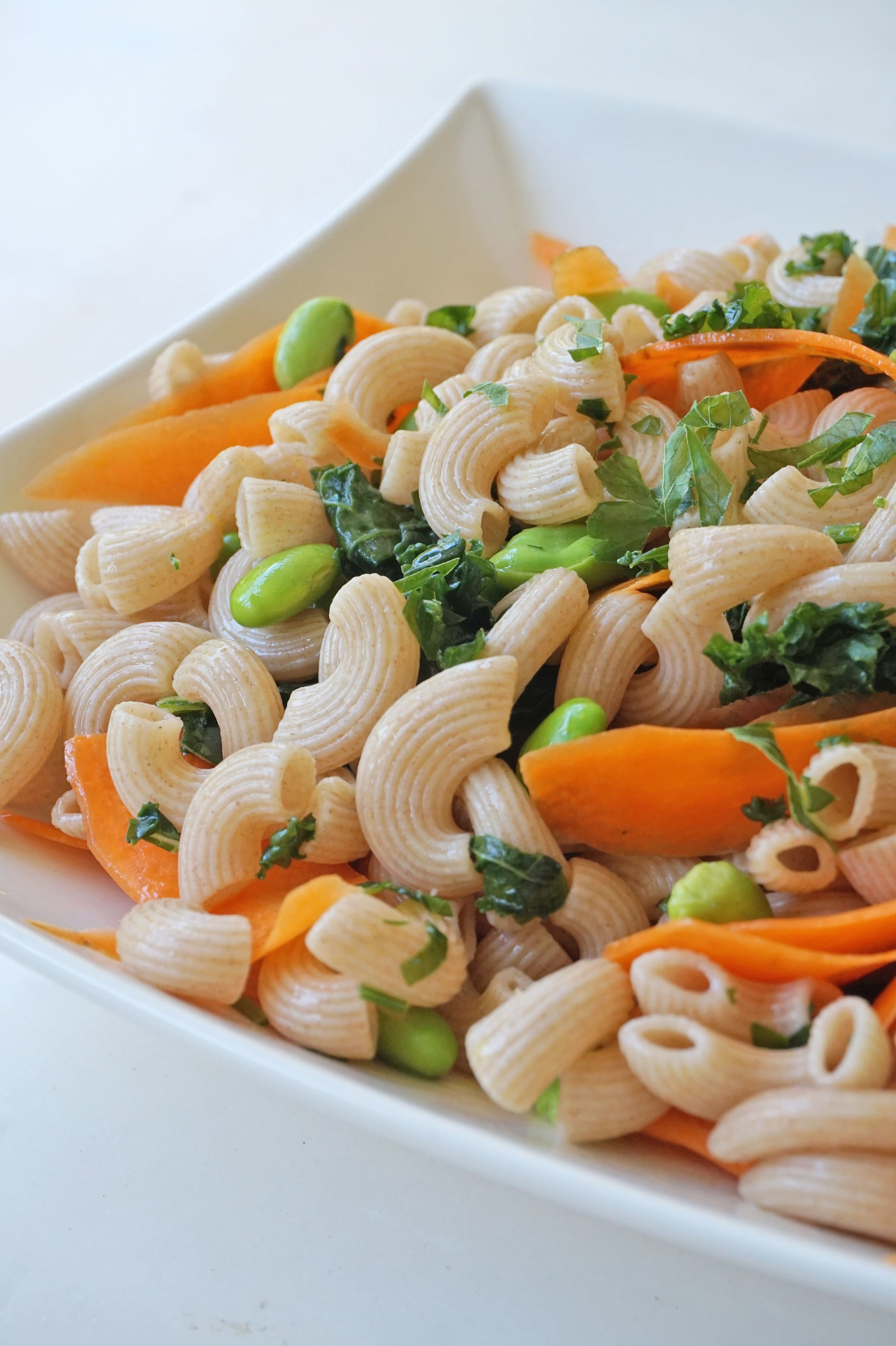 healthy vegan pasta salad