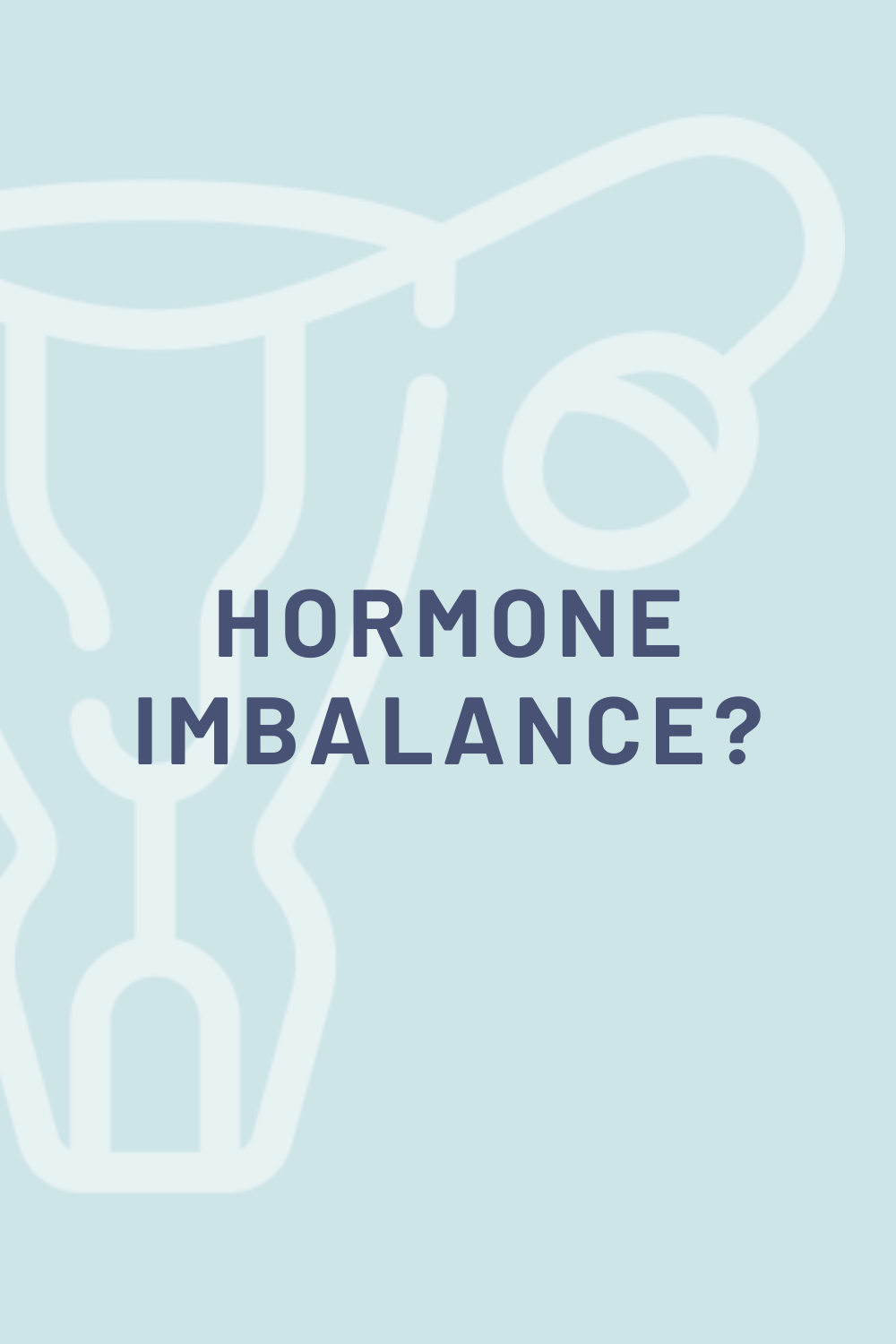 signs you suffer from hormone imbalance